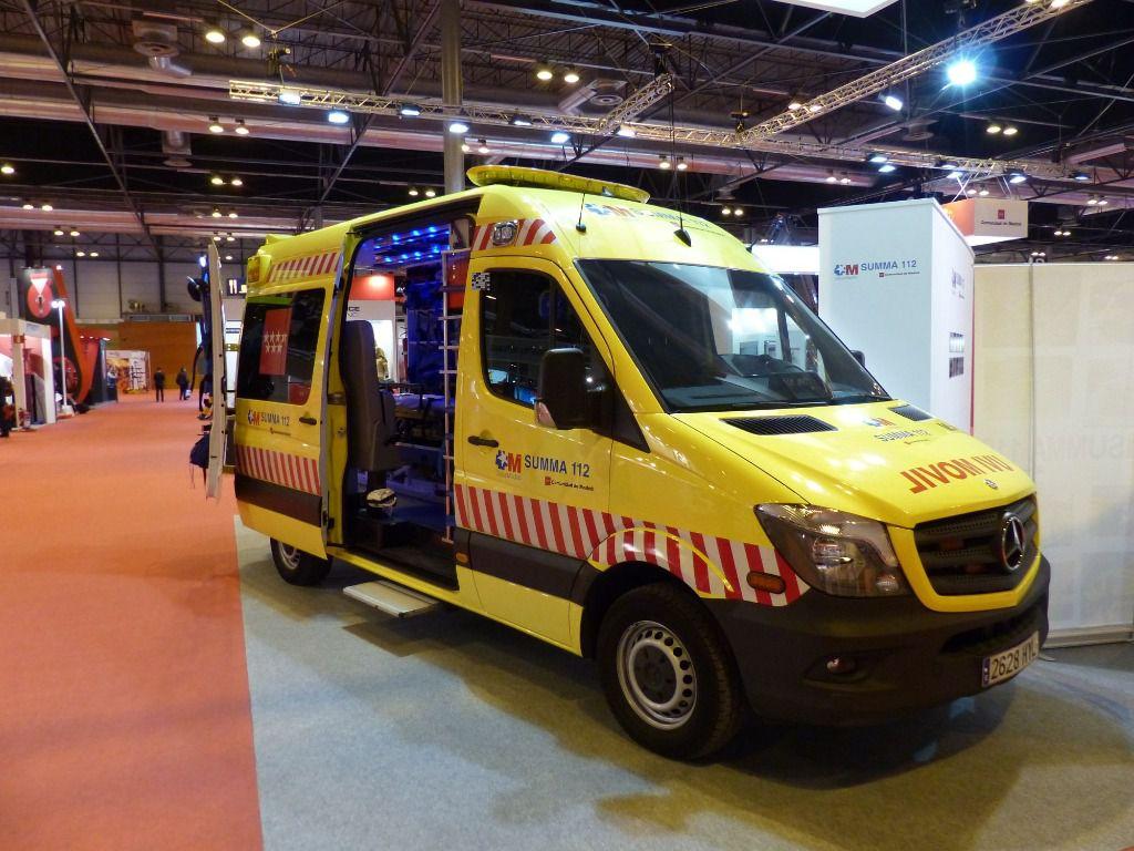 Ambulancia Summa 112, Comunidad de Madrid