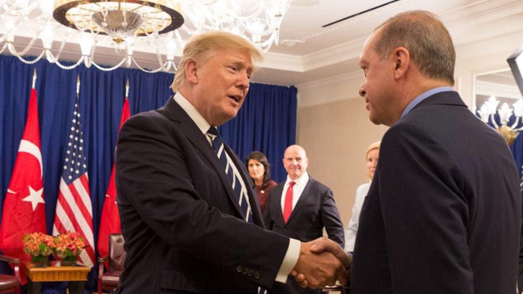 Donald Trump y Tayyip Erdo?an