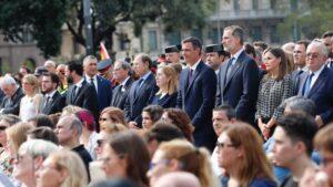 Felipe VI, Pedro Sánchez, Ana Pastor y Pío García Escudero