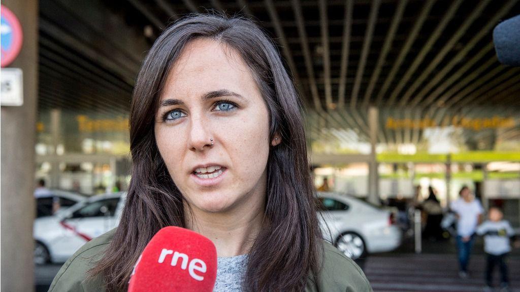 Ione Belarra, portavoz adjunta de Unidos Podemos