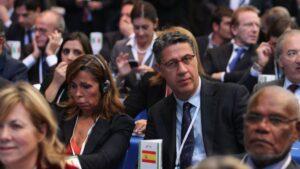 Xavier García Albiol, presidente del Grupo Popular en el Parlamento de Cataluña