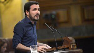 Alberto Garzón, diputado de Unidos Podemos