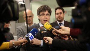 Carles Puigdemont, expresidente de la Generalitat de Cataluña