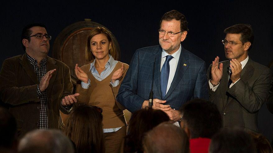 Rajoy, Cospedal y Catalá.