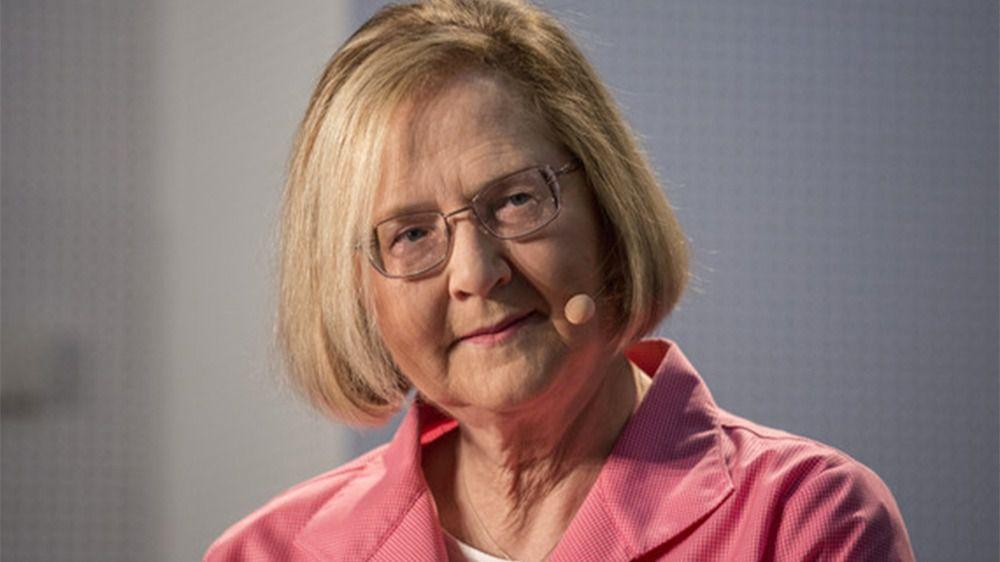 Elizabeth Blackburn durante la rueda de prensa en Madrid