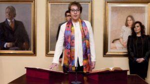 Carmen Martínez de Castro. secretaria de Estado de Comunicación.