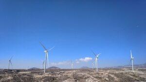 Iberdrola parque eólico Chimiche