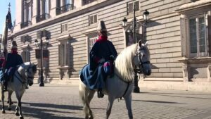 Caballos Guardia Real