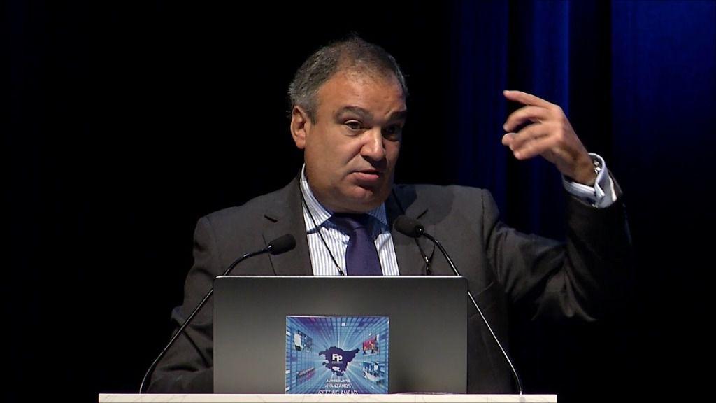 Eduardo Aréchaga, director general de Confebask