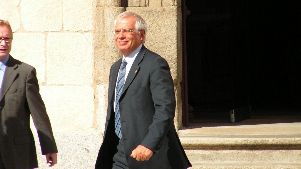 Josep Borrell, exministro de Obras Públicas