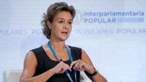 Isabel García Tejerina, Ministra de Agricultura, Pesca, Alimentación y Medio Ambiente
