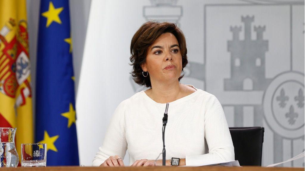 Soraya Sáenz de Santamaría, vicepresidenta del Gobierno