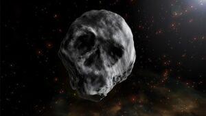 El nombre oficial del asteroide de Halloween es 2015 TB145 , un objeto con aspecto de calavera humana bajo determinadas condiciones de iluminación
