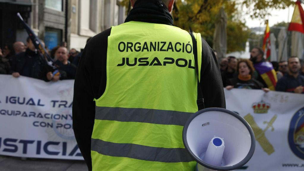 JUSAPOL equiparación salarial policía