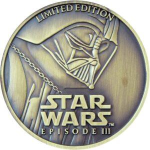 Moneda de Star Wars