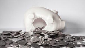 hucha ahorro monedas