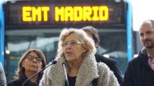 Carmena dice estar satisfecha por los primeros pasos de Madrid Central