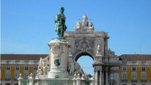 La Praça do Comércio ( Lisboa)