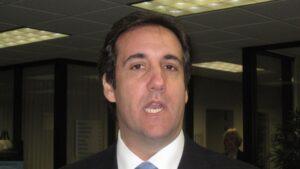 Michael Cohen, ex abogado de Donald Trump