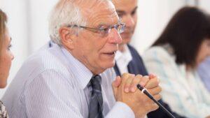 Josep Borrel, ministro de Asuntos Exteriores