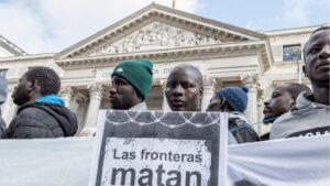 Inmigrantes fronteras concertinas ceuta melilla inmigracion