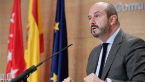 Pedro Rollán, portavoz y vicepresidente de la Comunidad de Madrid