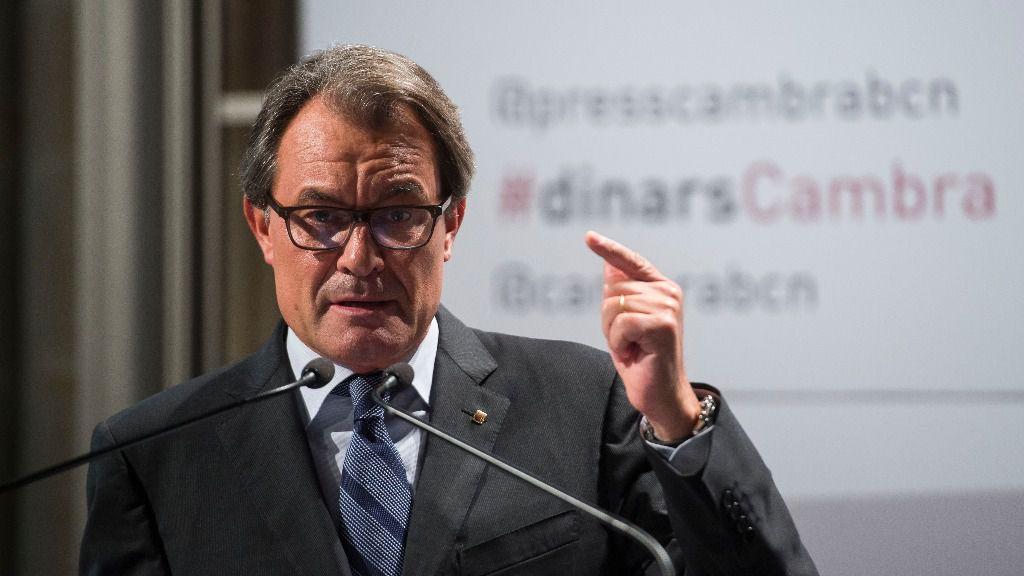 Artur Mas, expresidente de la Generalitat de Cataluña