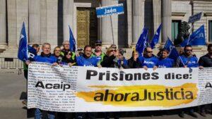 Trabajadores penitenciarios ACAIP Estremera