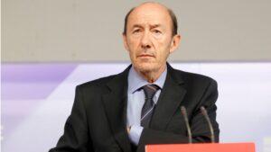 Alfredo Pérez Rubalcaba, exvicepresidente del Gobierno