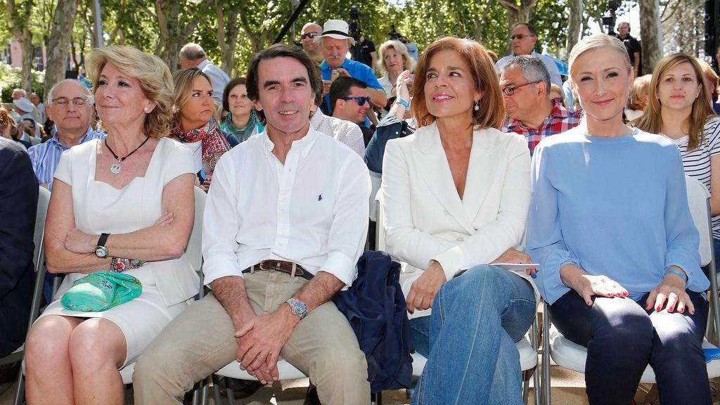 Esperanza Aguirre, José María Aznar, Botell Cifuentes