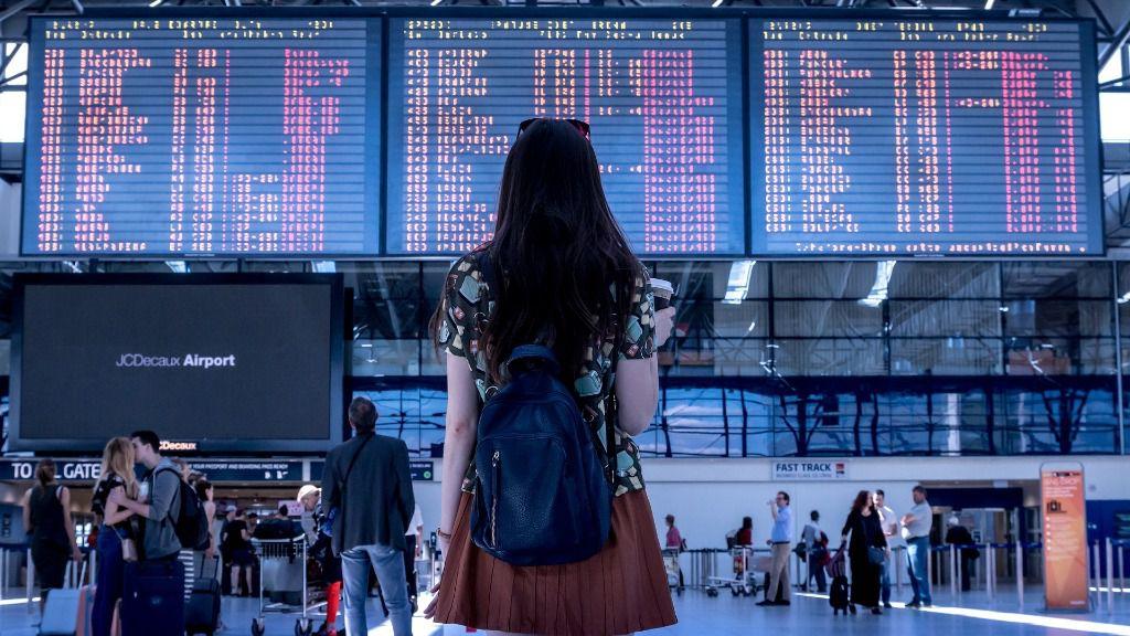 aeropuerto vuelo viaje