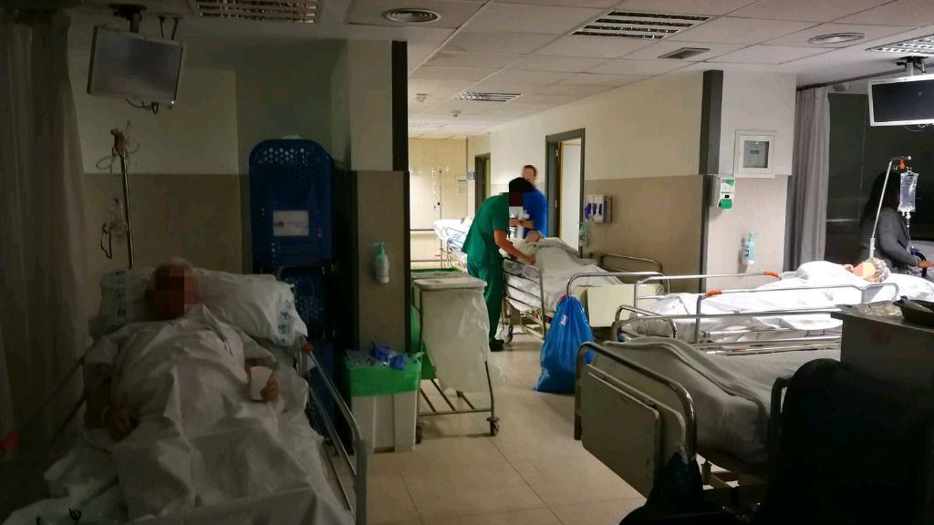 Urgencias en el Hospital de La Paz
