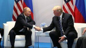 Donald Trump y Vladimir Putin en el G20
