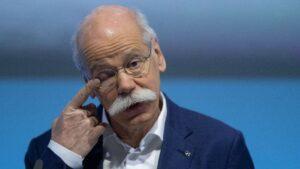 Dieter Zetsche, presidente ejecutivo de Daimler