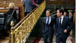 Pablo Casado y Teodoro García Egea