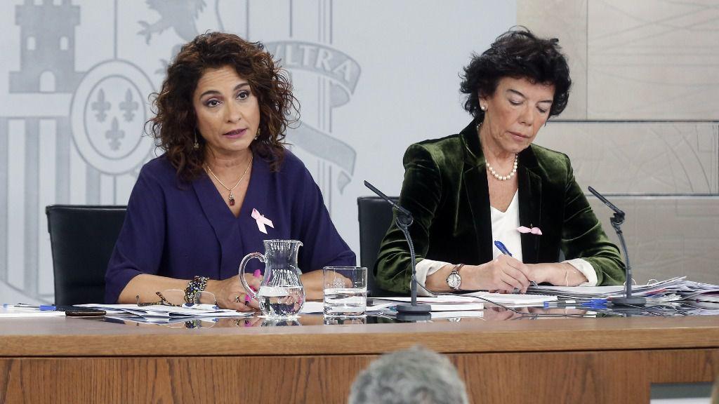María Jesús Montero, Isabel Celaá
