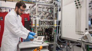 Investigador hidrógeno