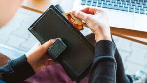 Tarjeta cartera ordenador