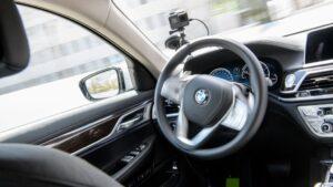 Vehículo de conducción autónoma de BMW