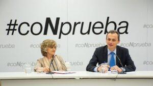 María Luisa Carcedo y Pedro Duque presentan la nueva campaña #CoNprueba contra pseudoterapias y pseudociencia