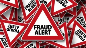 Fraude alerta señal