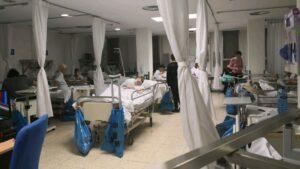 Colapso en las Urgencias del Hospital de La Paz. Fecha: 20/03/2019