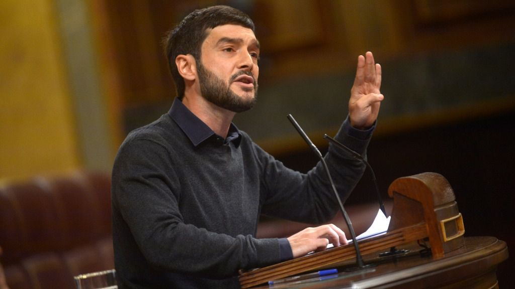 Pablo Bustinduy, diputado de Podemos por Madrid