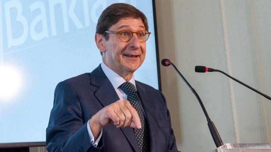 José Ignacio Goirigolzarri, presidente de Bankia