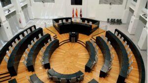 Salón de Plenos del Ayuntamiento de Madrid