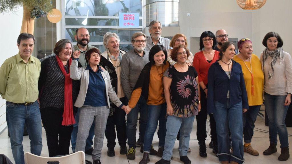 Presentación de la candidatura Madrid en Pie para las elecciones al Ayuntamiento de Madrid