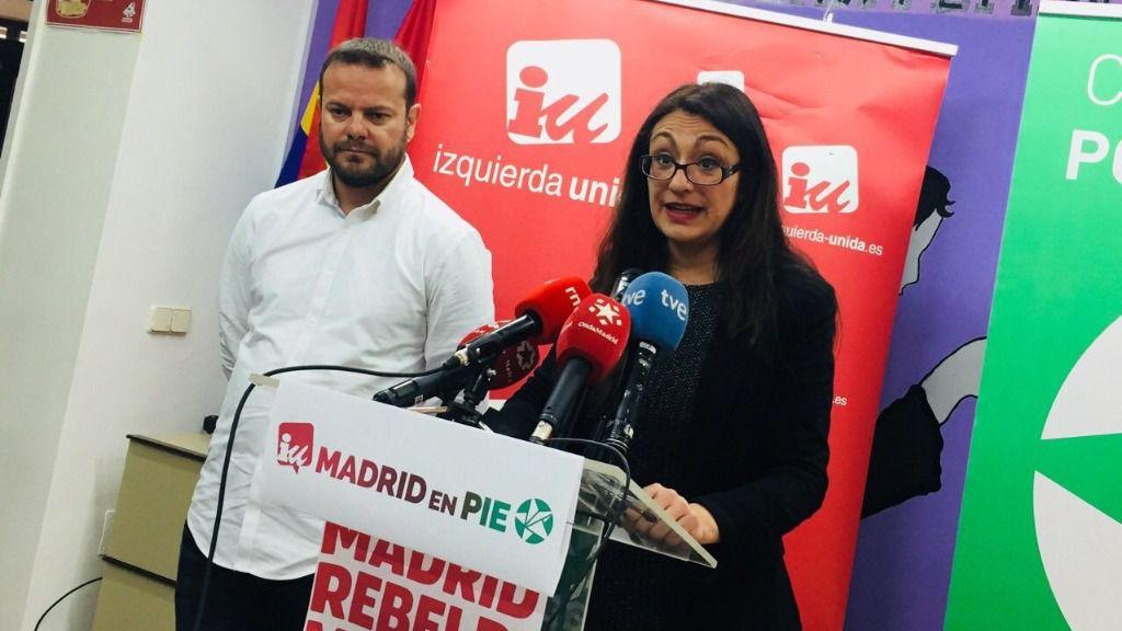 Sol Sánchez y Raúl Camargo