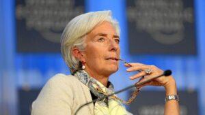 Christine Lagarde, directora gerente del FMI