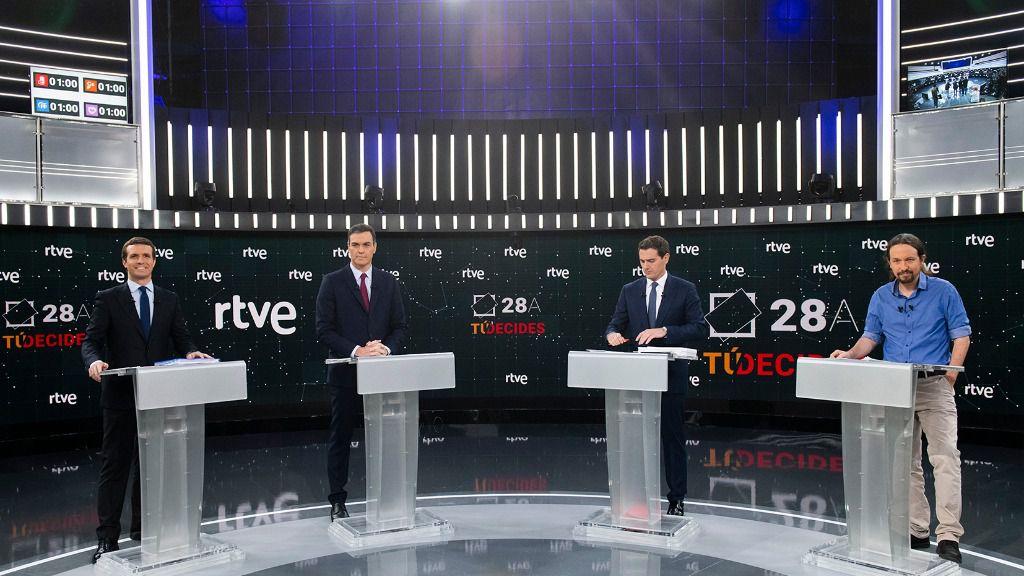 Debate a cuatro en RTVE