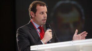 Sandro Rosell, expresidente del Fútbol Club Barcelona